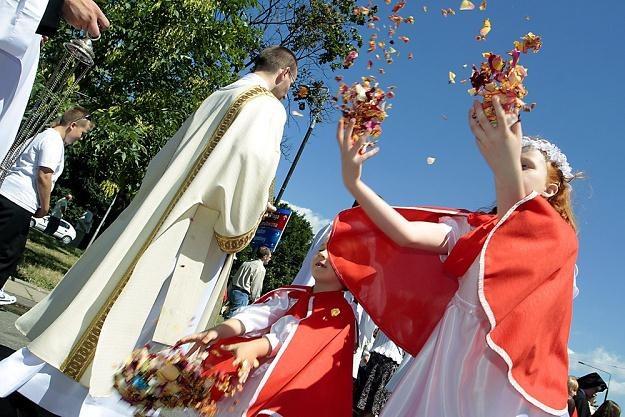 Obchody święta Bożego Ciała. Fot. A. Jankowski /Reporter