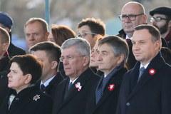 Obchody Święta Niepodległości przed Grobem Nieznanego Żołnierza w Warszawie