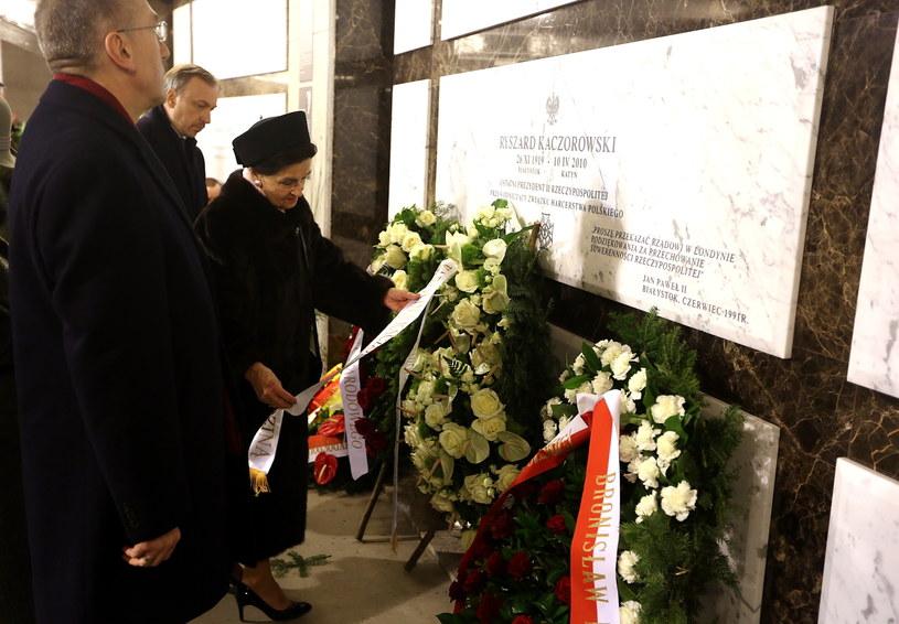 Obchody w 3. rocznicę katastrofy smoleńskiej /PAP
