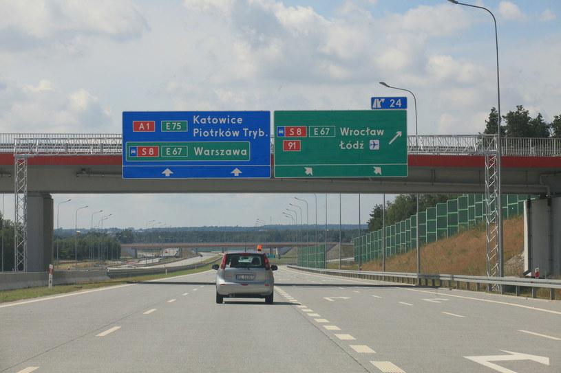 Obecnie A1 kończy się w podłódzkim Tuszynie /Polska Press /East News