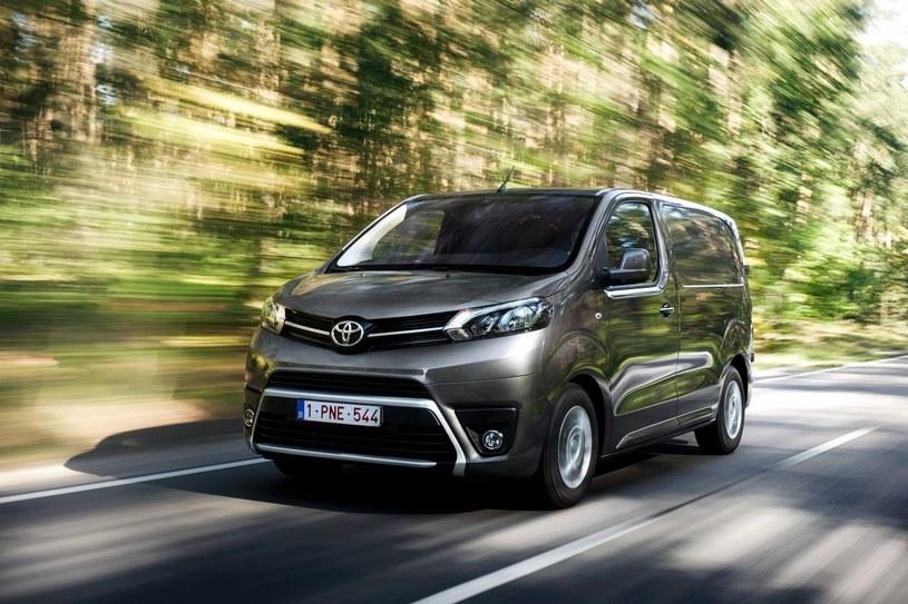 Obecnie oferowana Toyota ProAce /