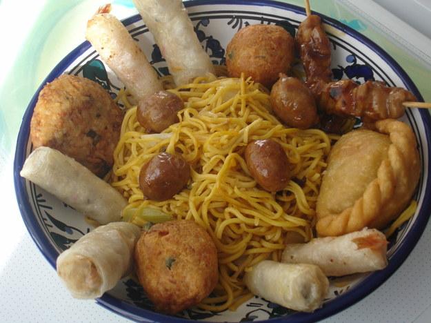 Obiad w Azji...