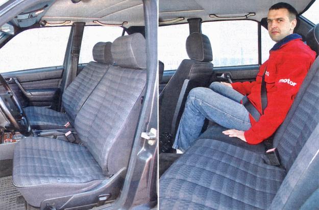 Obicia tapicerskie skutecznie opierają się próbie czasu. Fotel kierowcy jest bardzo wygodny. Także na tylnej kanapie nie można narzekać na nic oprócz niedostatku miejsca na nogi oraz nad głowami. /Motor