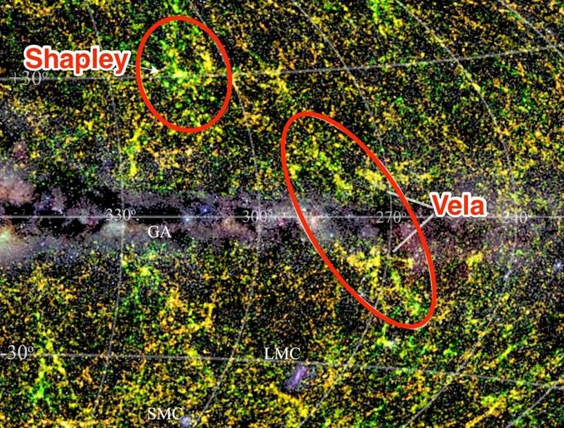 Obiekty ukrywające się za płaszczyzną Drogi Mlecznej /materiały prasowe