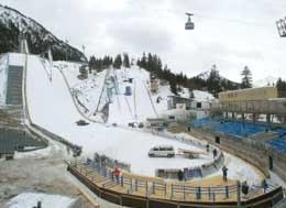 Obiekty w Oberstdorfie już czekają na zawodników /AFP
