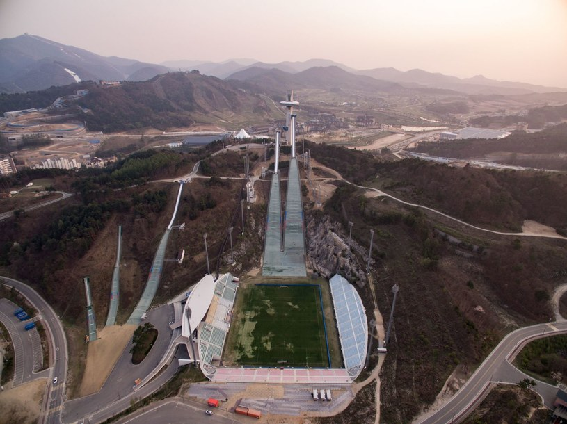 Obiekty w Pjongczangu, na których rozegrane zostaną igrzyska olimpijskie /AFP