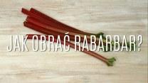 Obieranie rabarbaru - jak się do tego zabrać?