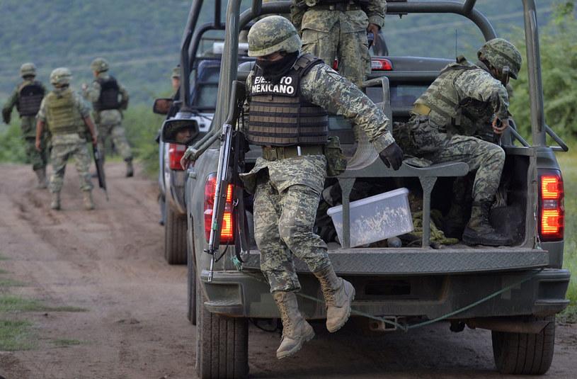 Obława na gangsterów po zestrzeleniu śmigłowca /AFP