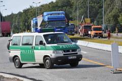 Obława na polsko- niemieckiej granicy