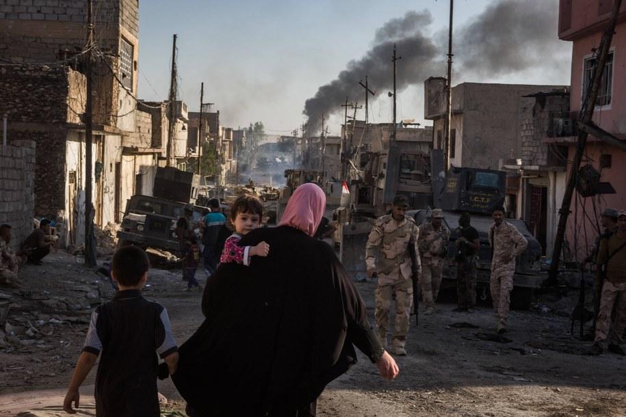 Oblężony Mosul /ANDREA DICENZO /PAP/EPA