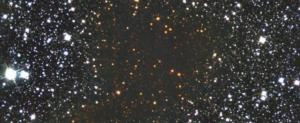 Obłok molekularny Barnard 68 widziany w podczerwieni ukazuje ukrywające się gwiazdy /NASA