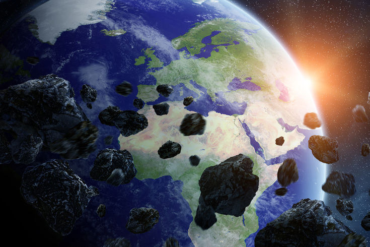 Obłok Oorta może kierować ku Ziemi całe chmary komet i asteroid /©123RF/PICSEL