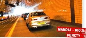 Obowiązkowy dystans w tunelu /Motor