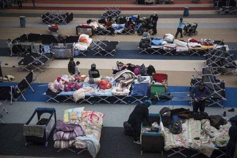 Obóz dla uchodźców w Niemczech, zdj. ilustracyjne /ODD ANDERSEN / AFP /AFP