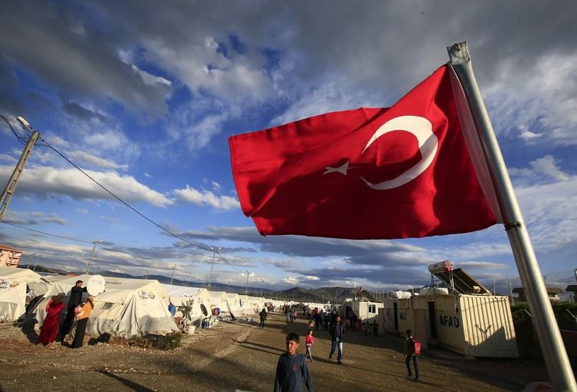 Obóz dla uchodźców w Turcji /AP /East News