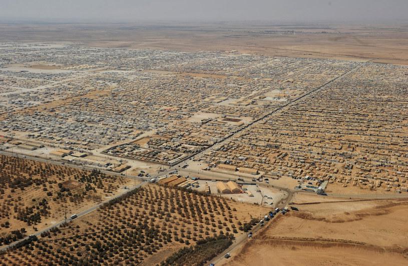 Obóz dla uchodźców w Zaatari /AFP