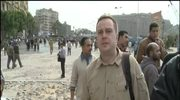 Obóz przeciwników Mubaraka w Kairze