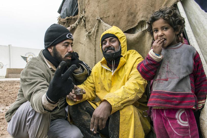 Obóz uchodźców syryjskich          /zdjęcie ilustracyjne /Slawomir Kowalewski   /Agencja FORUM