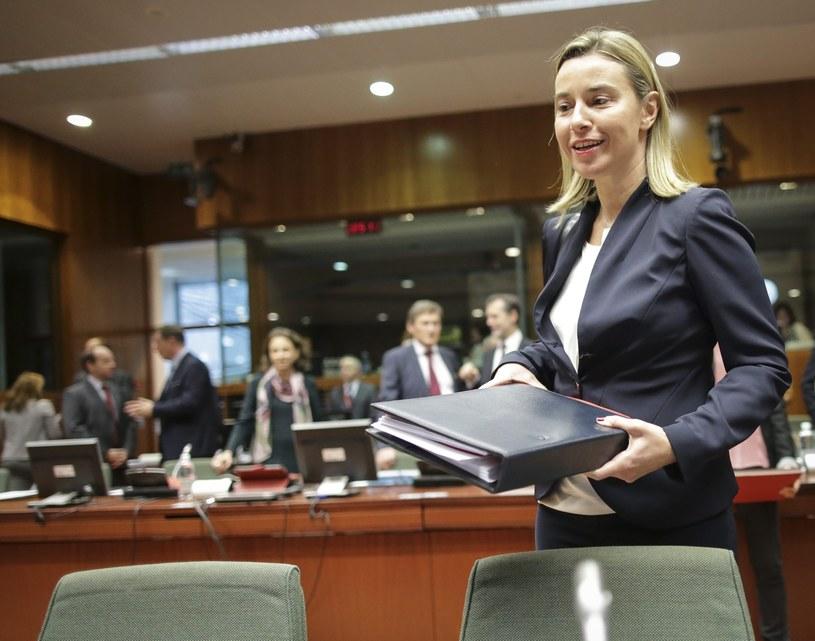 Obrady prowadziła Federica Mogherini /PAP/EPA