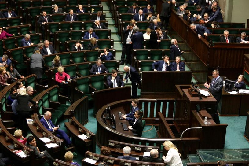 Obrady Sejmu /Tomasz Gzell /PAP