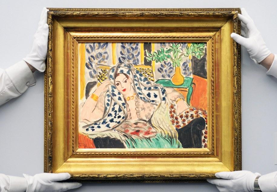 Obraz Henri Matisse'a /ANDY RAIN /PAP/EPA