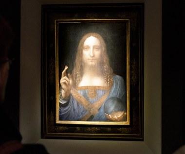 Obraz Leonarda da Vinci sprzedany za 450 mln dolarów