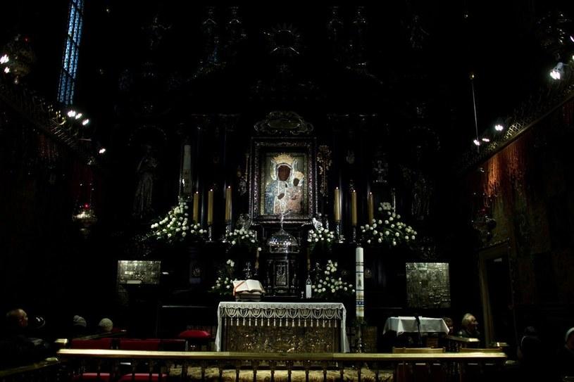 Obraz Matki Bożej Częstochowskiej na Jasnej Górze /MAREK BARCZYŃSKI /Agencja SE/East News
