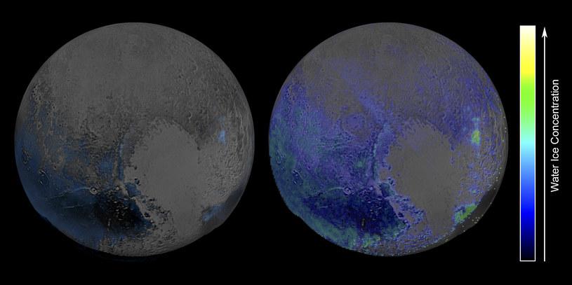 Obraz Plutona w podczerwieni /NASA/JHUIAPL/SwRI /materiały prasowe