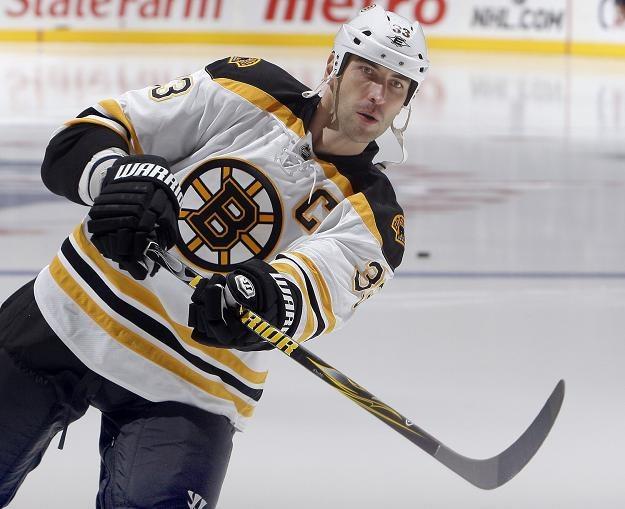Obrońca Bostonu - Zdeno Chara. /AFP
