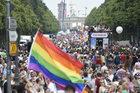 Obrońcy praw gejów demonstrowali w Berlinie