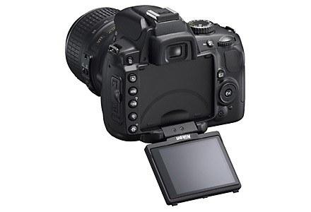 Obrotowy ekran Nikona D5000 /materiały prasowe