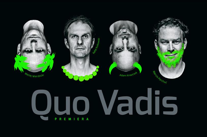 Obsada: Adam Krawczuk, Marcin Perchuć, Rafał Rutkowski, Maciej Wierzbicki /materiały prasowe