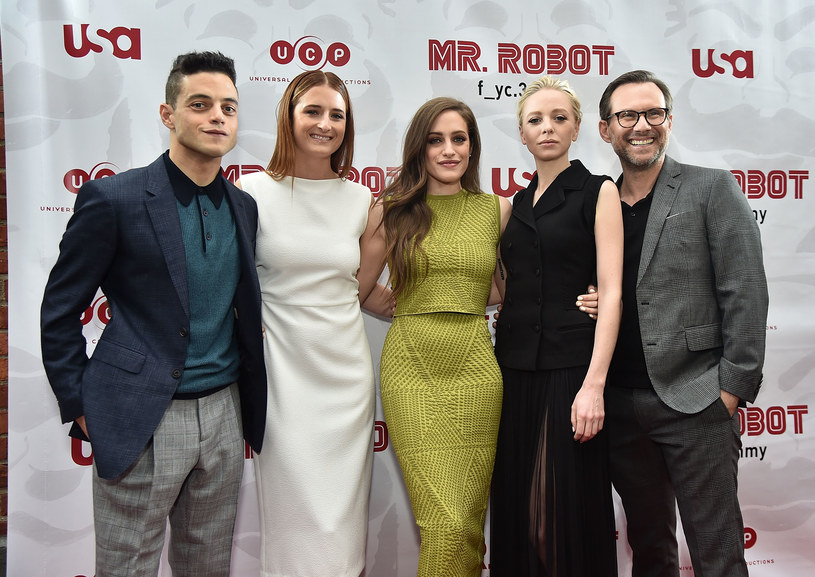 "Obsada serialu ""Mr. Robot"" /Theo Wargo /Getty Images"