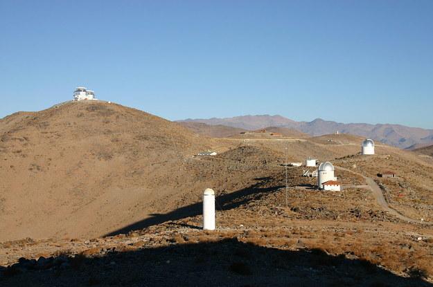 Obserwatorium astronomiczne Las Campanas w Chile / inf. prasowa /&nbsp