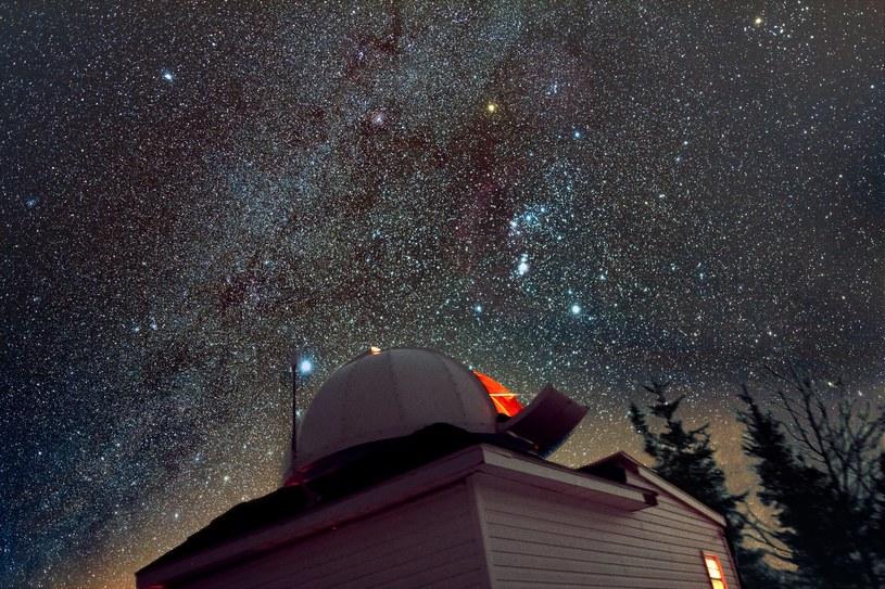 Obserwatorium, z którego Tim potrafi dostrzec obiekty astronomiczne niewidoczne dla nas Fot. DeepSkyEye Observatory /materiały prasowe