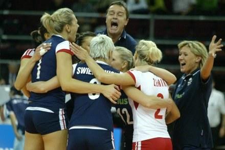 Oby polskie siatkarki miały jak najwięcej okazji do radości Fot. Rafał Bała /Agencja Przegląd Sportowy