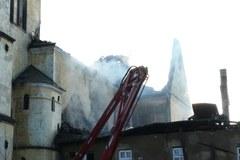 Ocalało wnętrze klasztoru w Alwerni