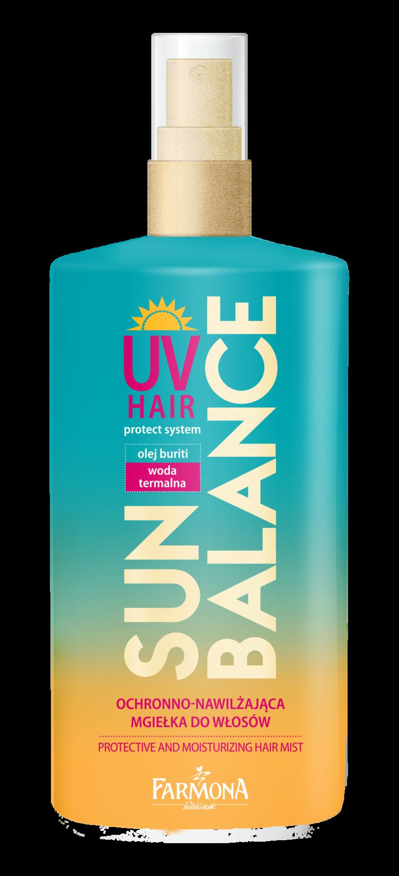 Ochronno-nawilżająca mgiełka do włosów Sun Balance /INTERIA.PL/materiały prasowe
