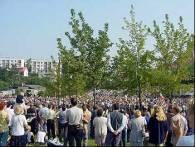 Oczekiwanie na papieża w Skawinie /RMF