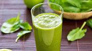 Oczyszczające zielone koktajle, które odchudzają