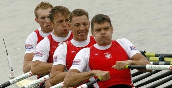 Od lewej: Wasilewski, Kolbowicz, Jeliński i Korol /AFP