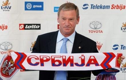 Od lipca 2006 roku Clemente prowadzi reprezentację Serbii /AFP