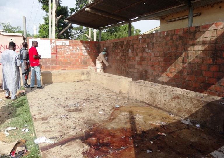 Od niedzieli w Kano wysadziły się w powietrze cztery zamachowczynie /AFP