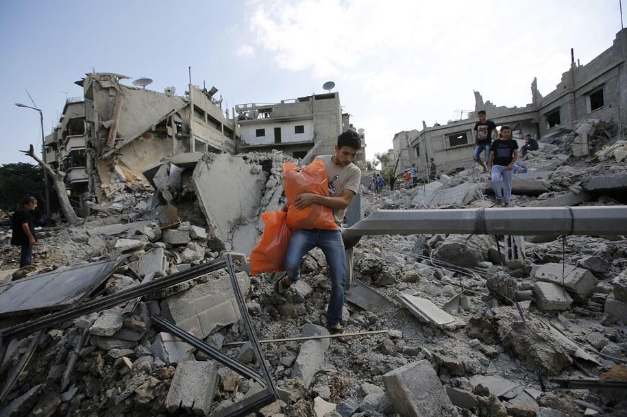 Od początku izraelskiej ofensywy zginęło już ponad 1000 Palestyńczyków /MOHAMMED SABER  /PAP/EPA
