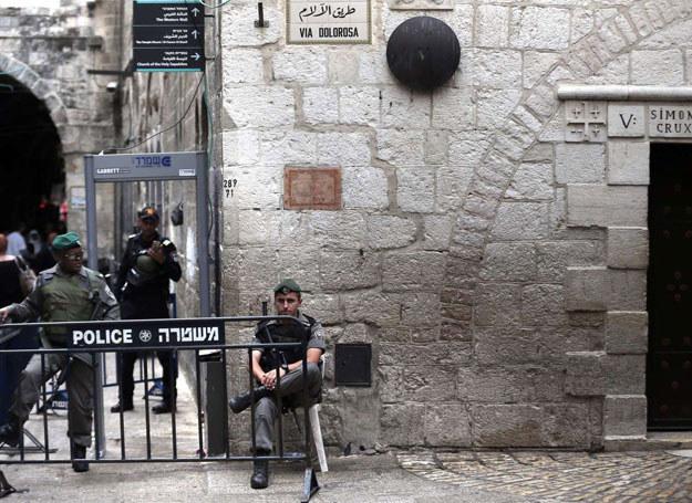 Od początku października w palestyńskich zamachach zginęło 18 Izraelczyków / THOMAS COEX /AFP