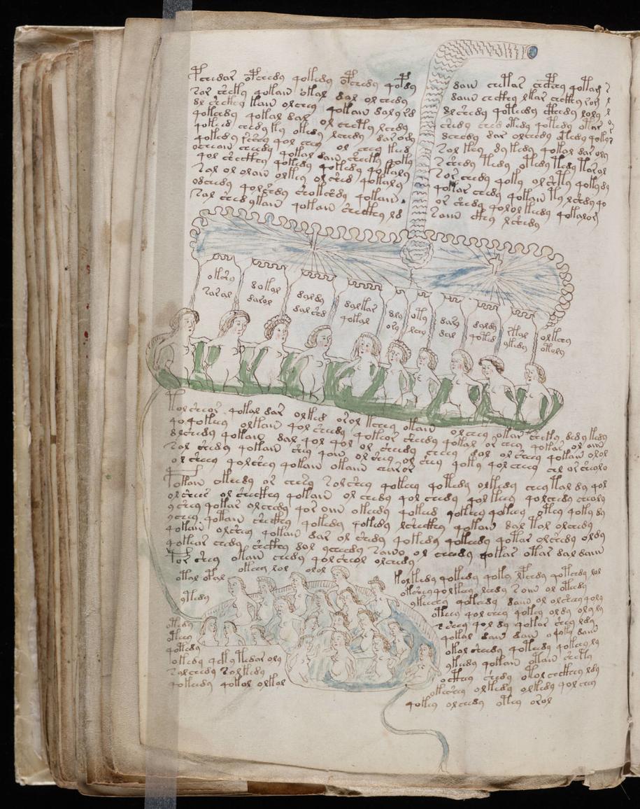 Od stu lat naukowcy z całego świata starają się ustalić, jakim językiem napisany jest Manuskrypt Wojnicza /Yale University /