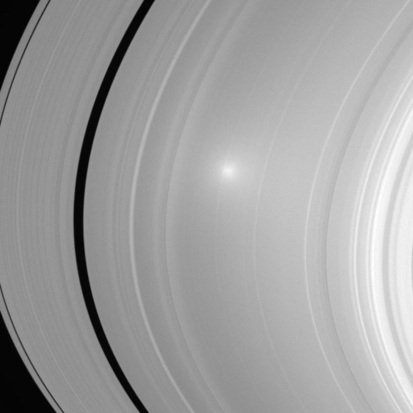 Odbicie Słońca na zdjęciu wykonanym w 2006 roku /NASA