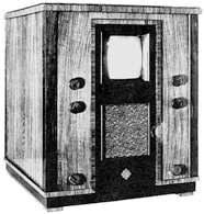 Odbiornik telewizyjny Telefunken z 1935 r. /Encyklopedia Internautica