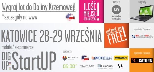 Odbywający się w tym roku w Katowicach DigUp StartUp to również możliwość wyjazdu do Doliny Krzemowej – światowego centrum IT. /materiały prasowe
