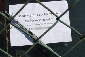 Odda auto za darmo... /poboczem.pl